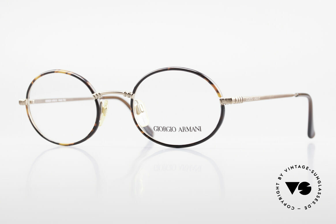Giorgio Armani 223 Ovale Vintage Brille 90er