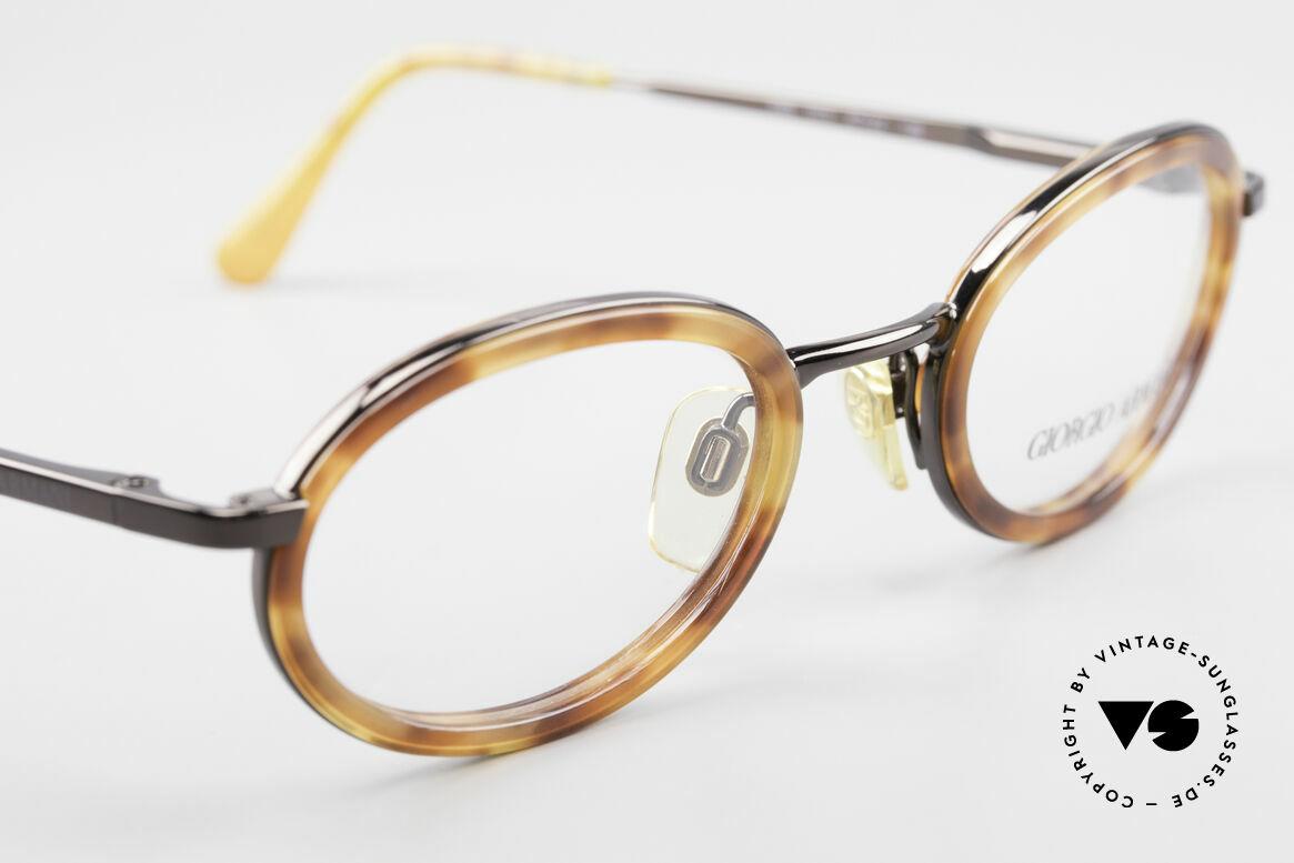 Giorgio Armani 258 Ovale Vintage Designer Brille