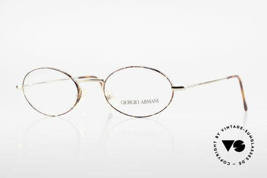 Giorgio Armani 270 Vintage Brille Oval No Retro Details