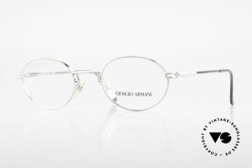 Giorgio Armani 244 Ovale Vintage Brille No Retro Details