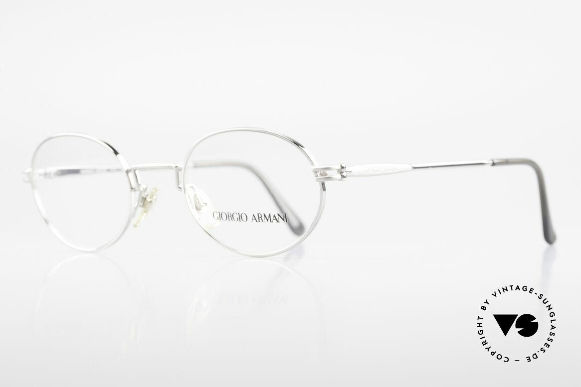 Giorgio Armani 244 Ovale Vintage Brille No Retro