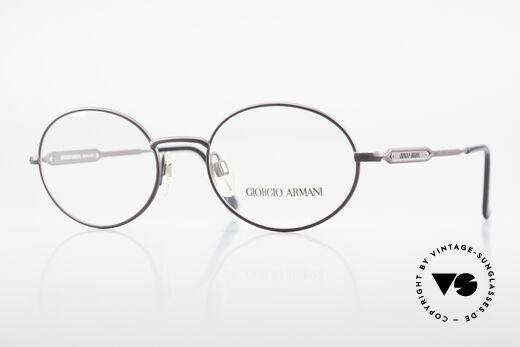 Giorgio Armani 241 No Retro Brille Oval Vintage Details
