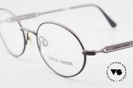 Giorgio Armani 241 No Retro Brille Oval Vintage