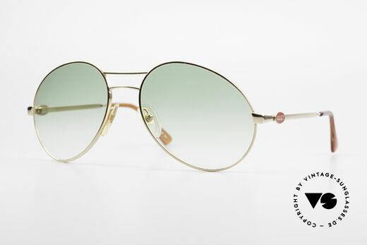 Bugatti 64335 Außergewöhnliche Brille 80er Details
