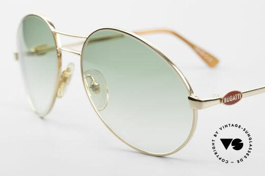 Bugatti 64335 Außergewöhnliche Brille 80er