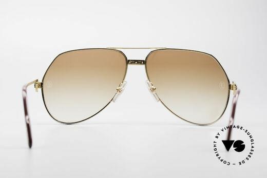 Cartier Vendome Santos - L Luxus Diamanten Sonnenbrille, 2. hand Modell in neuwertigem Zustand in Large Gr. 62, Passend für Herren