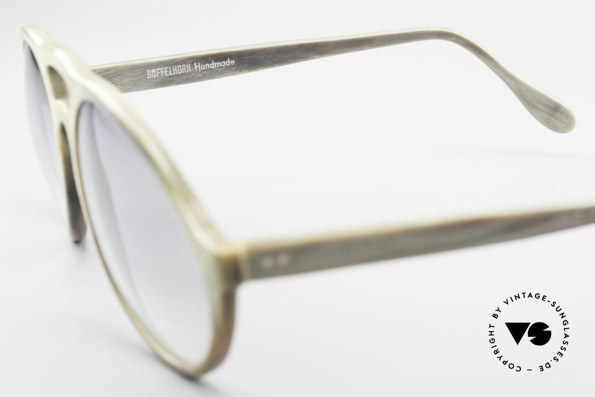 Bugatti 55020 Echt Büffelhorn Sonnenbrille