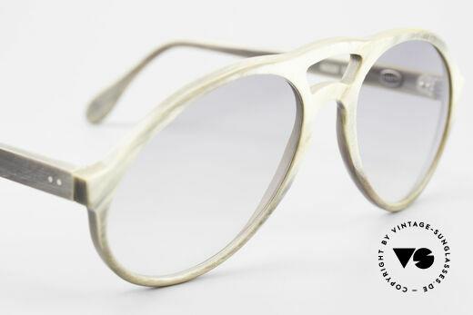Bugatti 55020 Echt Büffelhorn Sonnenbrille, wahres UNIKAT ... heutzutage kaum noch zu bekommen!, Passend für Herren