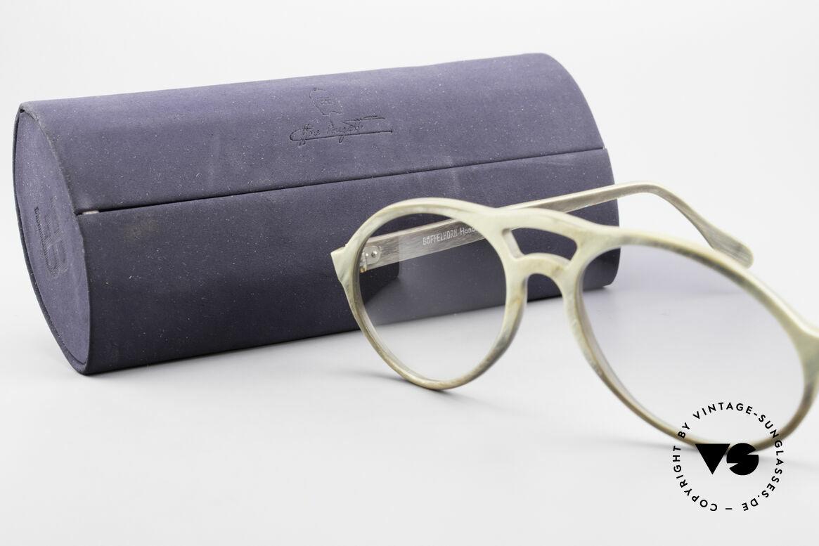 Bugatti 55020 Echt Büffelhorn Sonnenbrille, Größe: medium, Passend für Herren