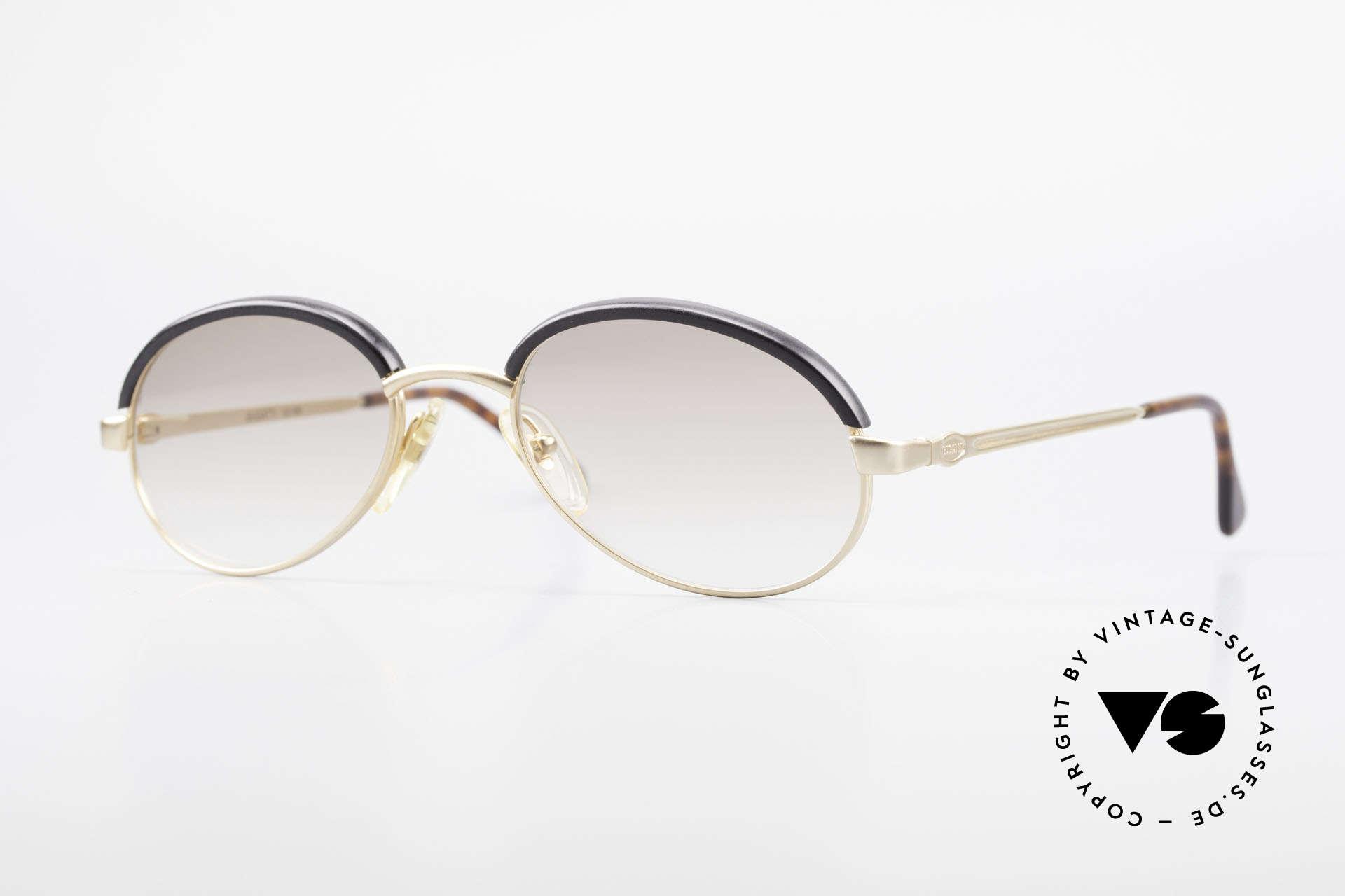 Bugatti 03180 Alte Klassische Bugatti Brille, alte, sehr elegante vintage Bugatti Sonnenbrille, Passend für Herren