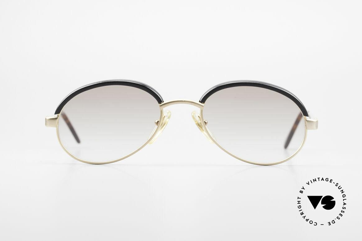 Bugatti 03180 Alte Klassische Bugatti Brille, circa Anfang der 90er J. in Frankreich produziert, Passend für Herren