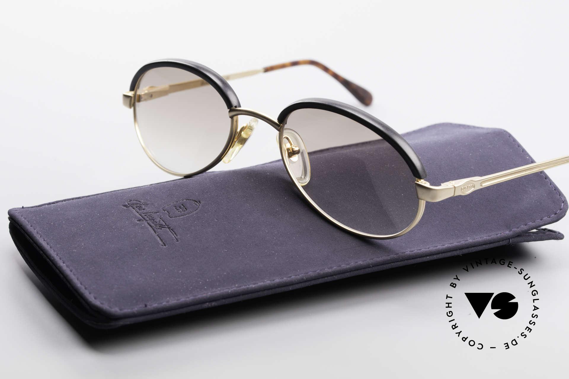 Bugatti 03180 Alte Klassische Bugatti Brille, KEINE Retrobrille, sondern ein rares 90er Original, Passend für Herren