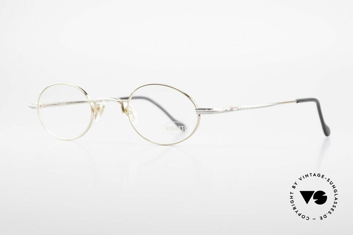 Bugatti 23194 Ovale Luxus Brillenfassung