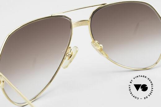 Cartier Vendome Santos - M Luxus Aviator Sonnenbrille, KEINE Retrobrille, sondern ein altes vintage ORIGINAL!, Passend für Herren und Damen