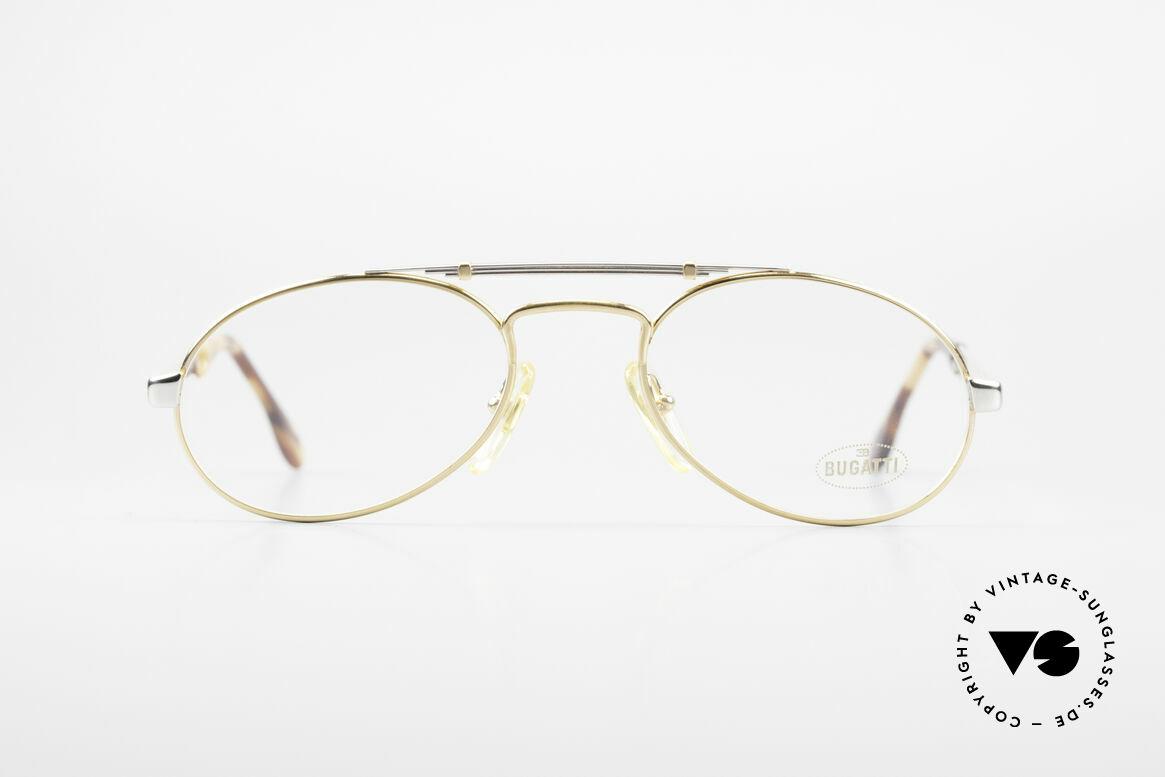 Bugatti 16958 Vergoldete Vintage Brille 80er