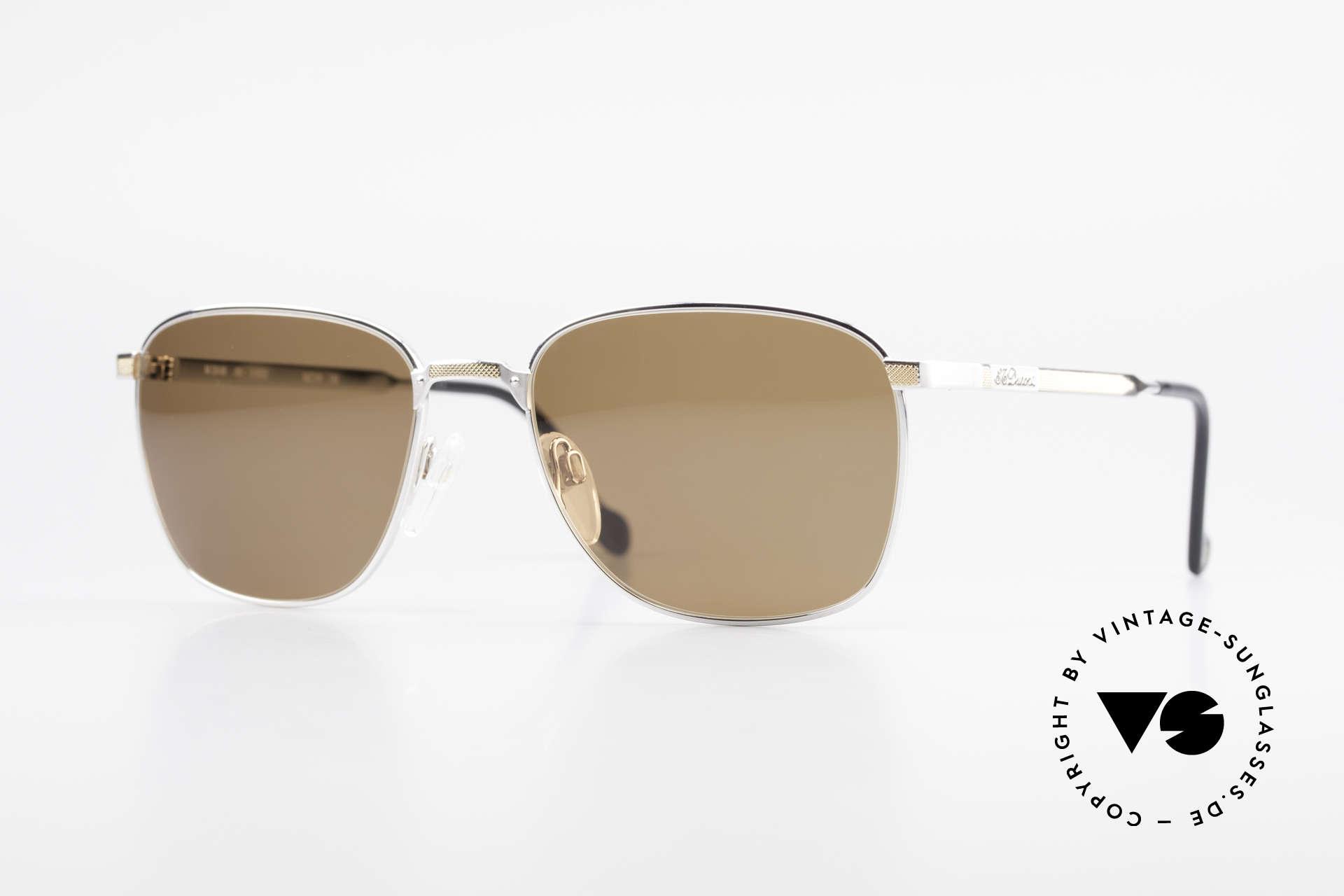 S.T. Dupont D048 90er Luxus Sonnenbrille 23kt, klassische Herren LuxusSonnenbrille von S.T. Dupont, Passend für Herren