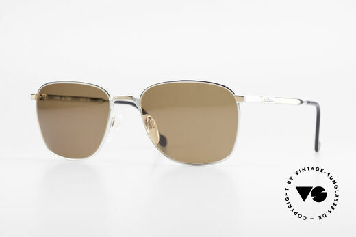 S.T. Dupont D048 90er Luxus Sonnenbrille 23kt Details