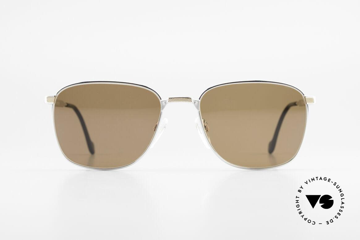 S.T. Dupont D048 90er Luxus Sonnenbrille 23kt, hochwertige Verarbeitung & Top-Passform, Gr. 56°18, Passend für Herren