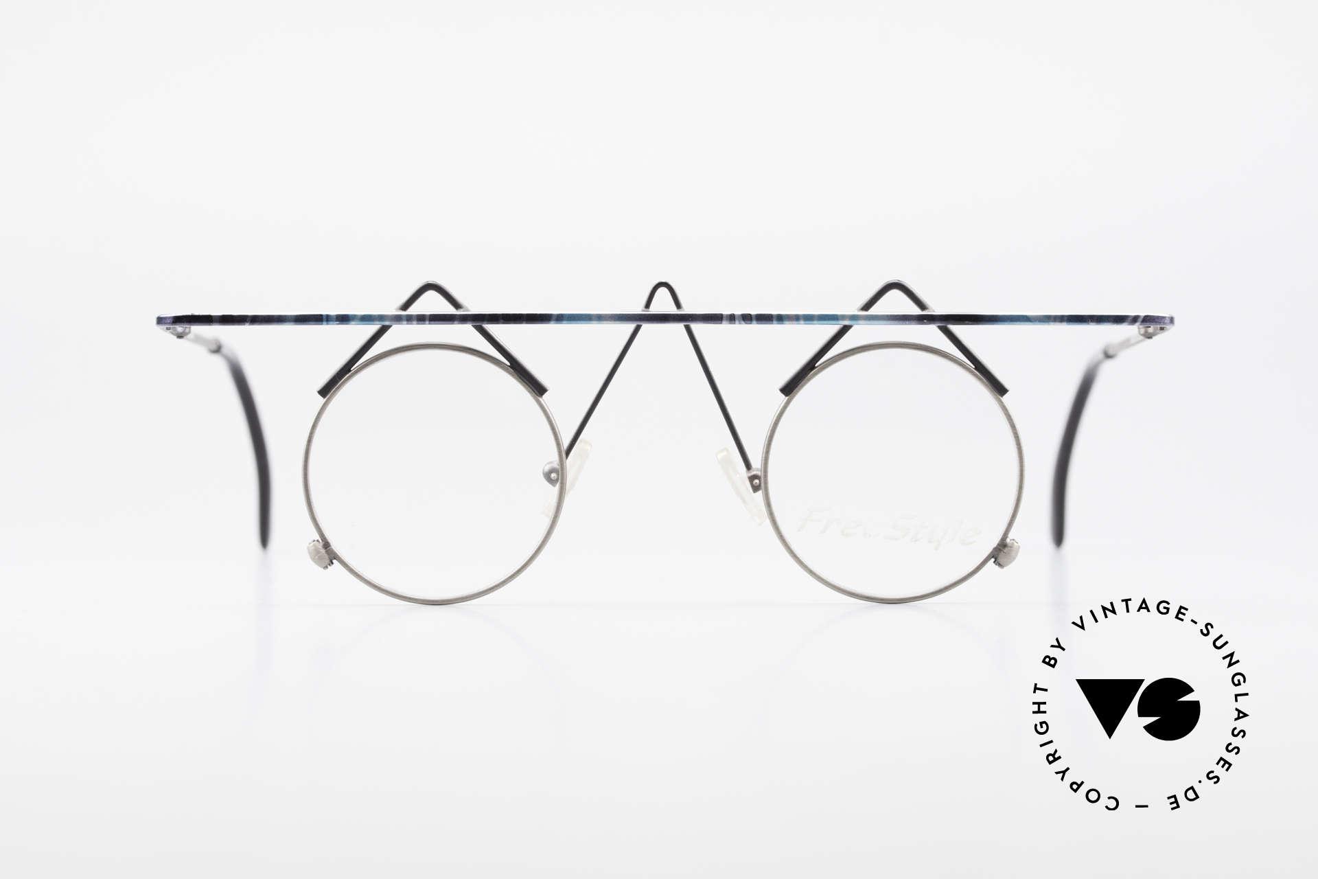 Argenta Crazy 705 Verrückte Vintage Fassung, kunstvolle vintage Brille; alles andere als Mainstream, Passend für Damen