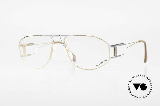 Quattro 0421 Außergewöhnliche 80er Brille Details