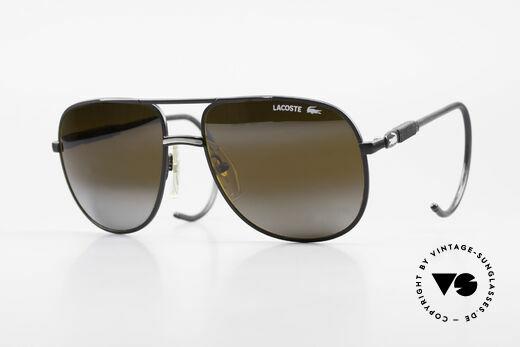 Lacoste 101S Sportliche Aviator Brille XL Details