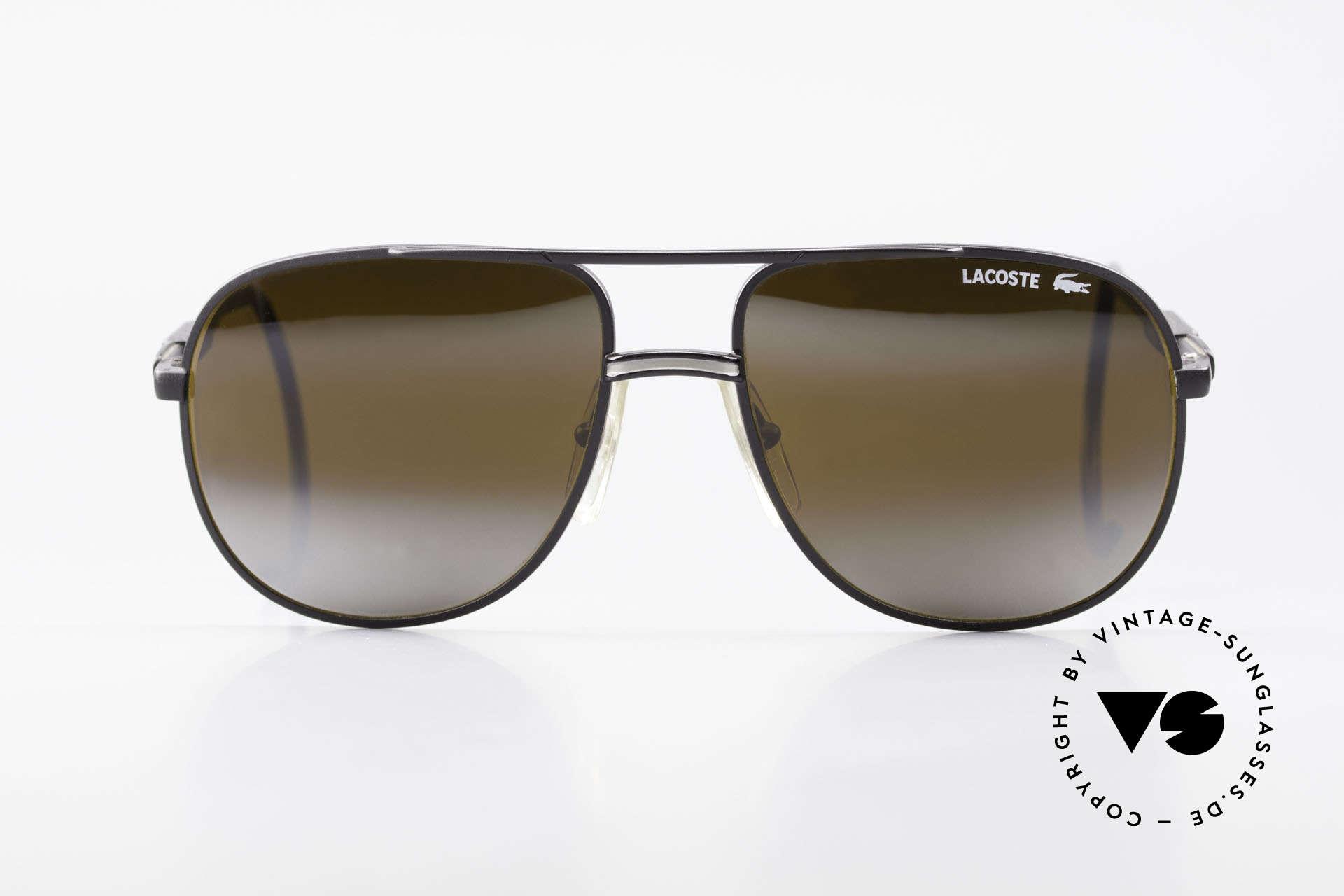 """Lacoste 101S Sportliche Aviator Brille XL, Modell """"101"""" der absolute Brillenklassiker von Lacoste, Passend für Herren"""