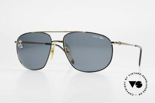 Lacoste 121 XL Sport Sonnenbrille Herren Details
