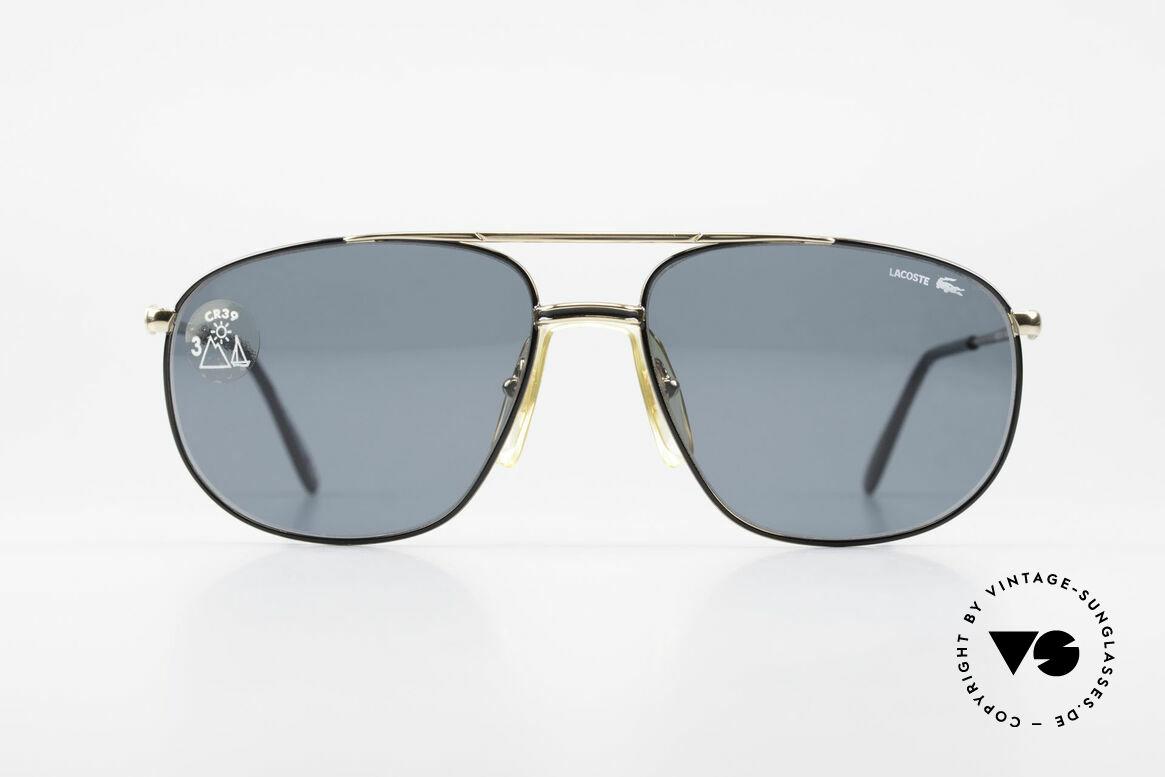 Lacoste 121 XL Sport Sonnenbrille Herren, Hybride aus Sport und Schick, mit orig. Etui, Passend für Herren