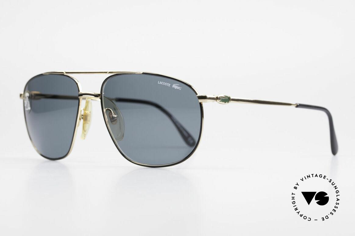 Lacoste 121 XL Sport Sonnenbrille Herren, sehr solide Verarbeitung, gepaart mit Eleganz, Passend für Herren
