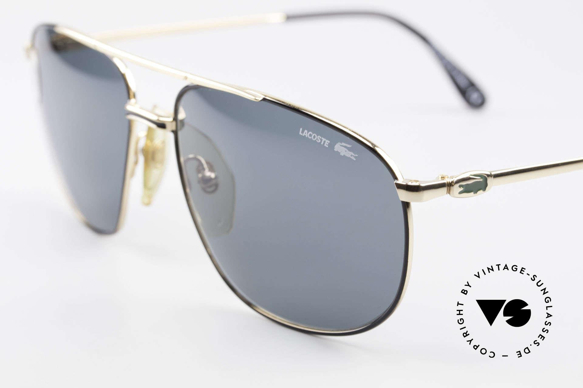 Lacoste 121 XL Sport Sonnenbrille Herren, Lacoste Sonnengläser für 100% UV Protection, Passend für Herren