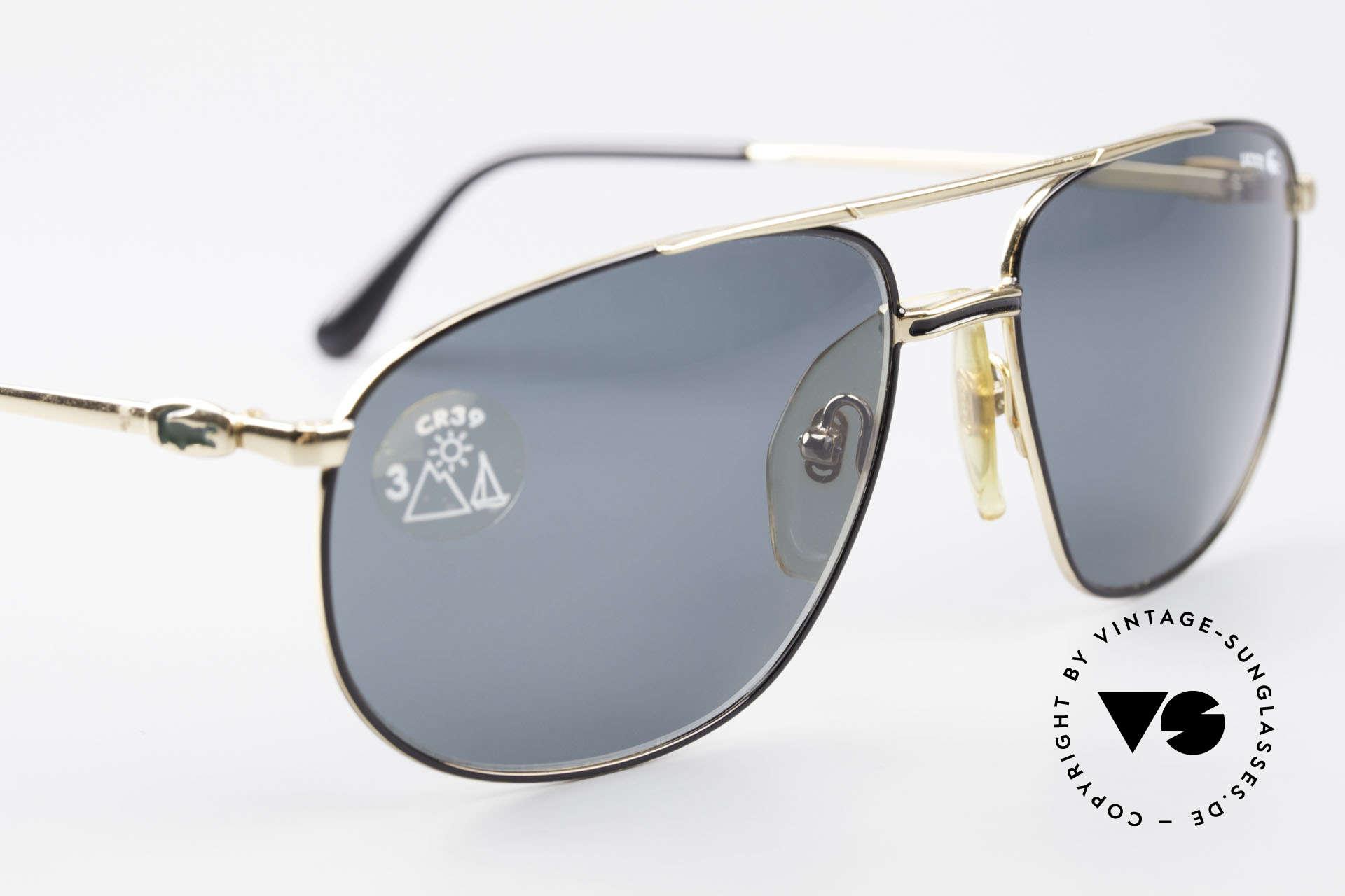 Lacoste 121 XL Sport Sonnenbrille Herren, ungetragen (wie alle unsere LACOSTE Brillen), Passend für Herren