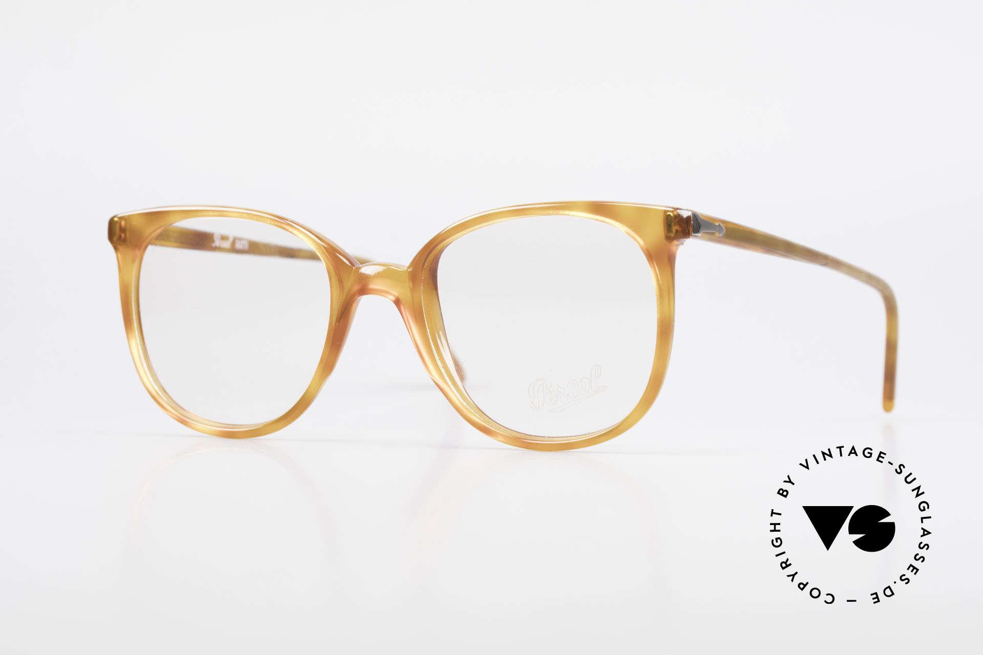 Persol 09181 Ratti Alte Vintage Brille Original, klassisches Brillengestell von Persol der 1980er, Passend für Herren und Damen