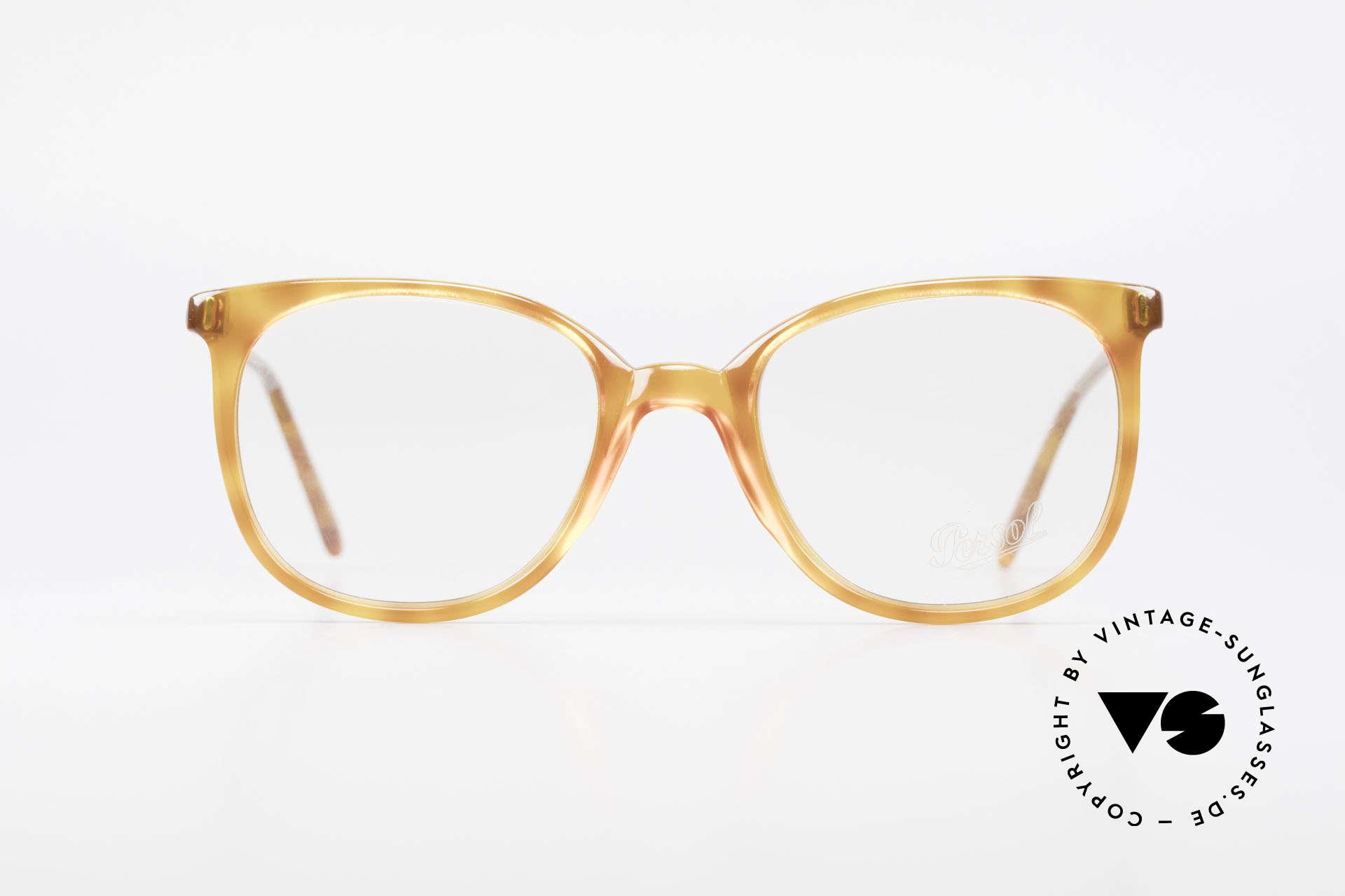 Persol 09181 Ratti Alte Vintage Brille Original, feine Bügel; sehr zeitloses Design & Kolorierung, Passend für Herren und Damen