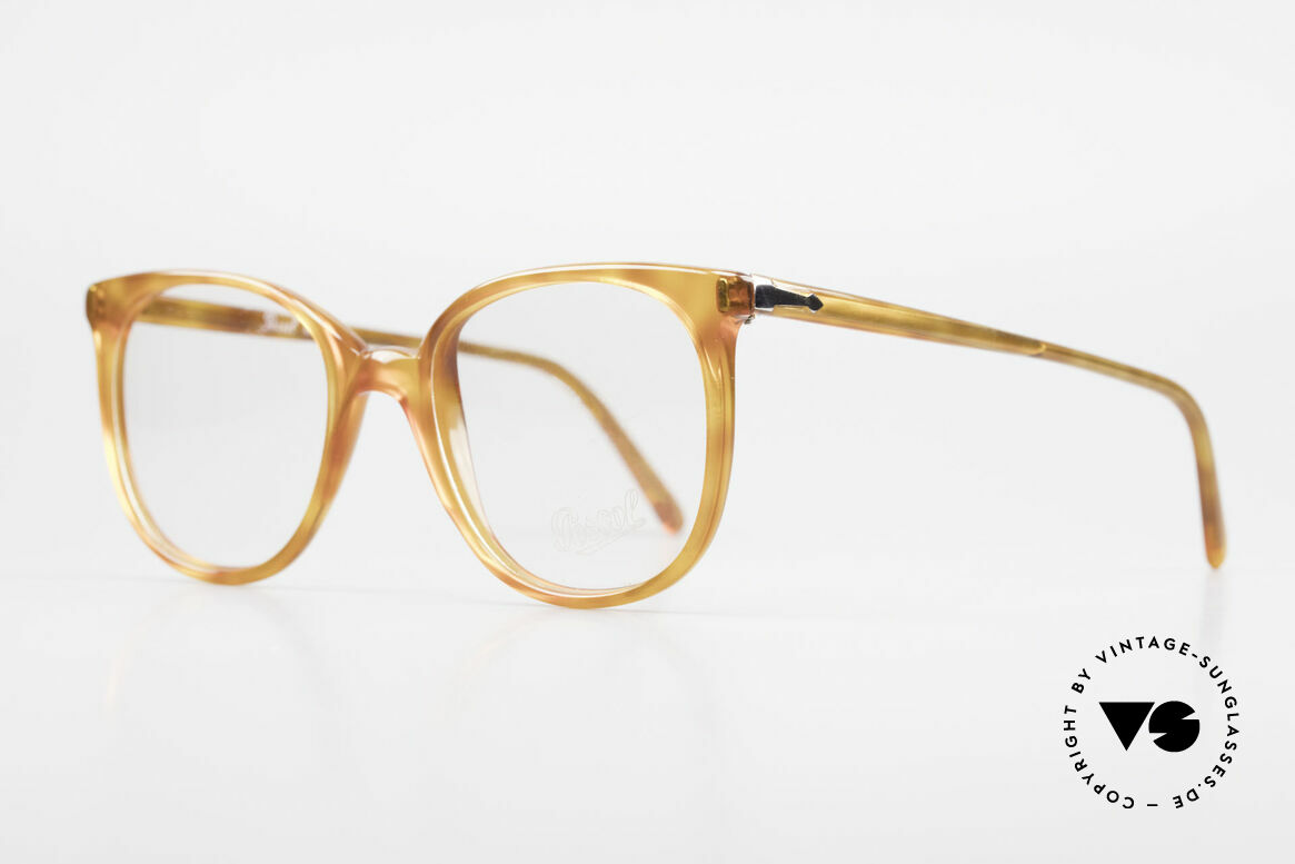 Persol 09181 Ratti Alte Vintage Brille Original, Rarität aus der alten Ratti-Manufaktur in Turin, Passend für Herren und Damen