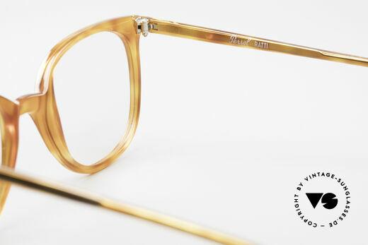 Persol 09181 Ratti Alte Vintage Brille Original, Demogläser sollten durch optische ersetzt werden, Passend für Herren und Damen
