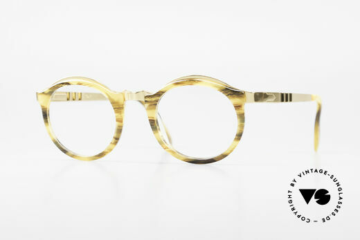 Persol Ivy Gold Plated Panto Brille Small Details