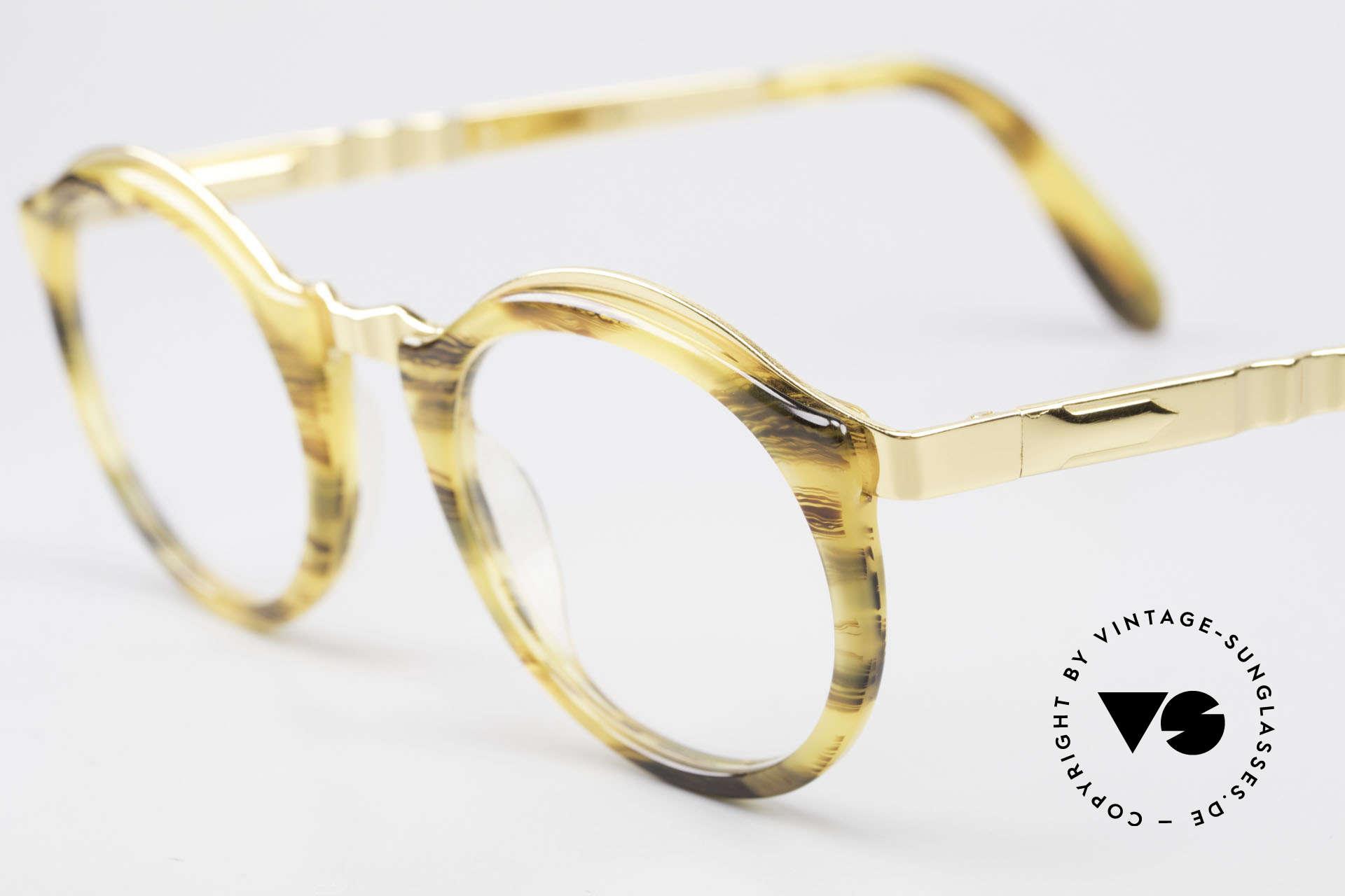 Persol Ivy Gold Plated Panto Brille Small, ungetragen (wie alle unsere vintage Persol Brillen), Passend für Herren und Damen