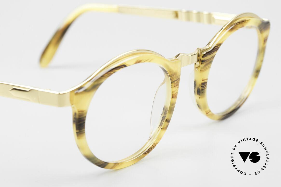 Persol Ivy Gold Plated Panto Brille Small, KEINE Retrobrille, ein ca. 25 Jahre altes ORIGINAL, Passend für Herren und Damen