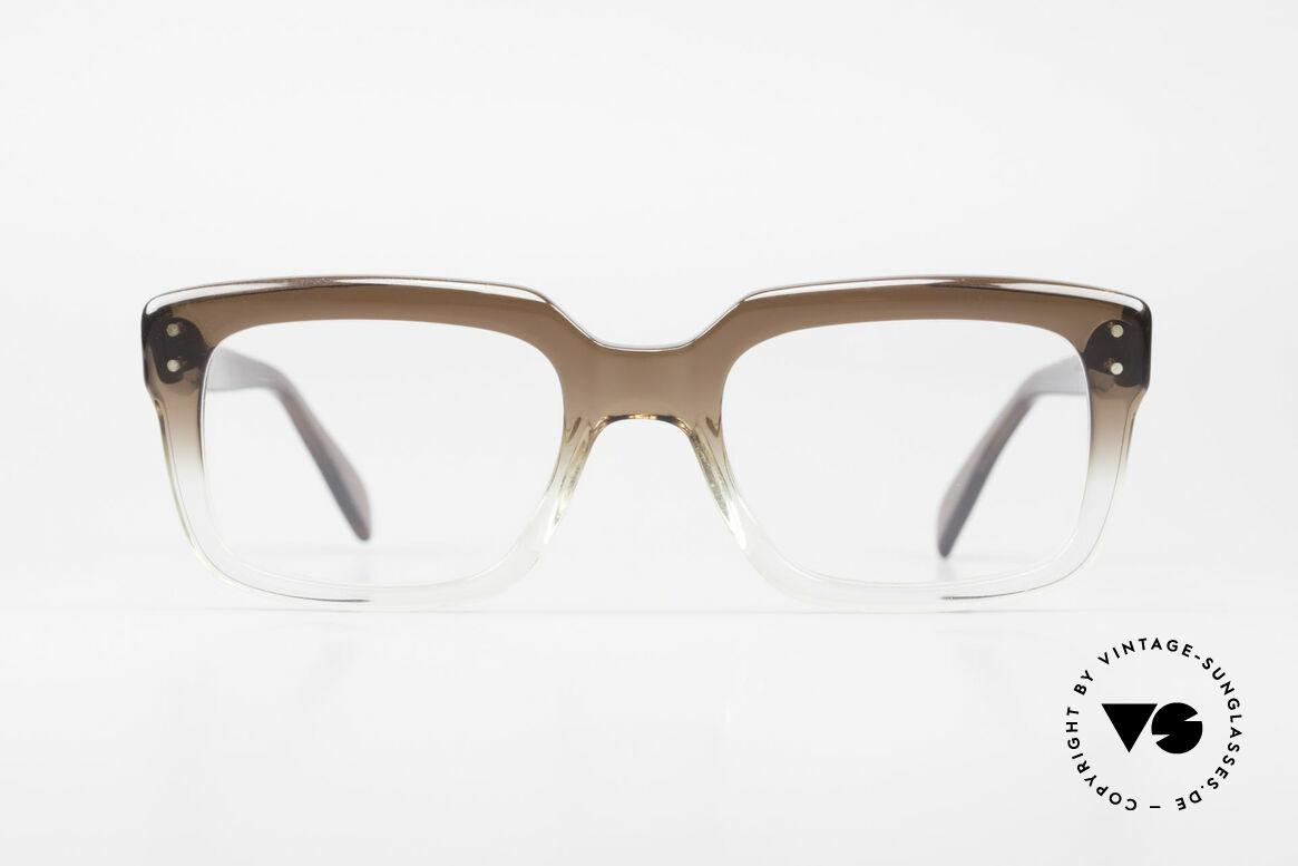 Metzler 450 80er Jahre Old School Brille, altes 80er Jahre Original - wie aus einem Stück, Passend für Herren