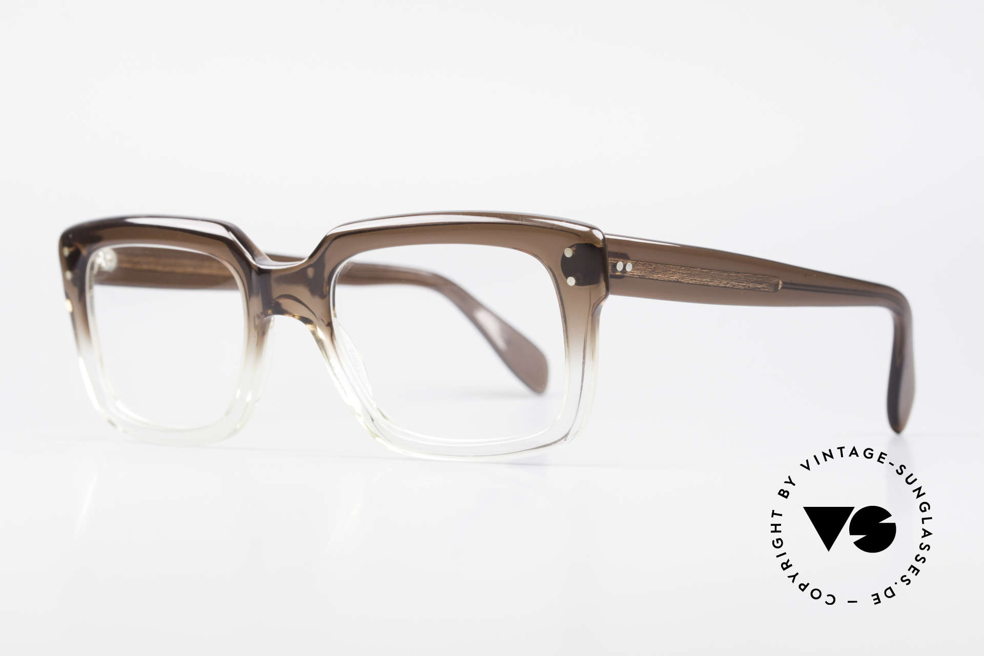 Metzler 450 80er Jahre Old School Brille, heutzutage als 'OLD SCHOOL' Brille bezeichnet, Passend für Herren