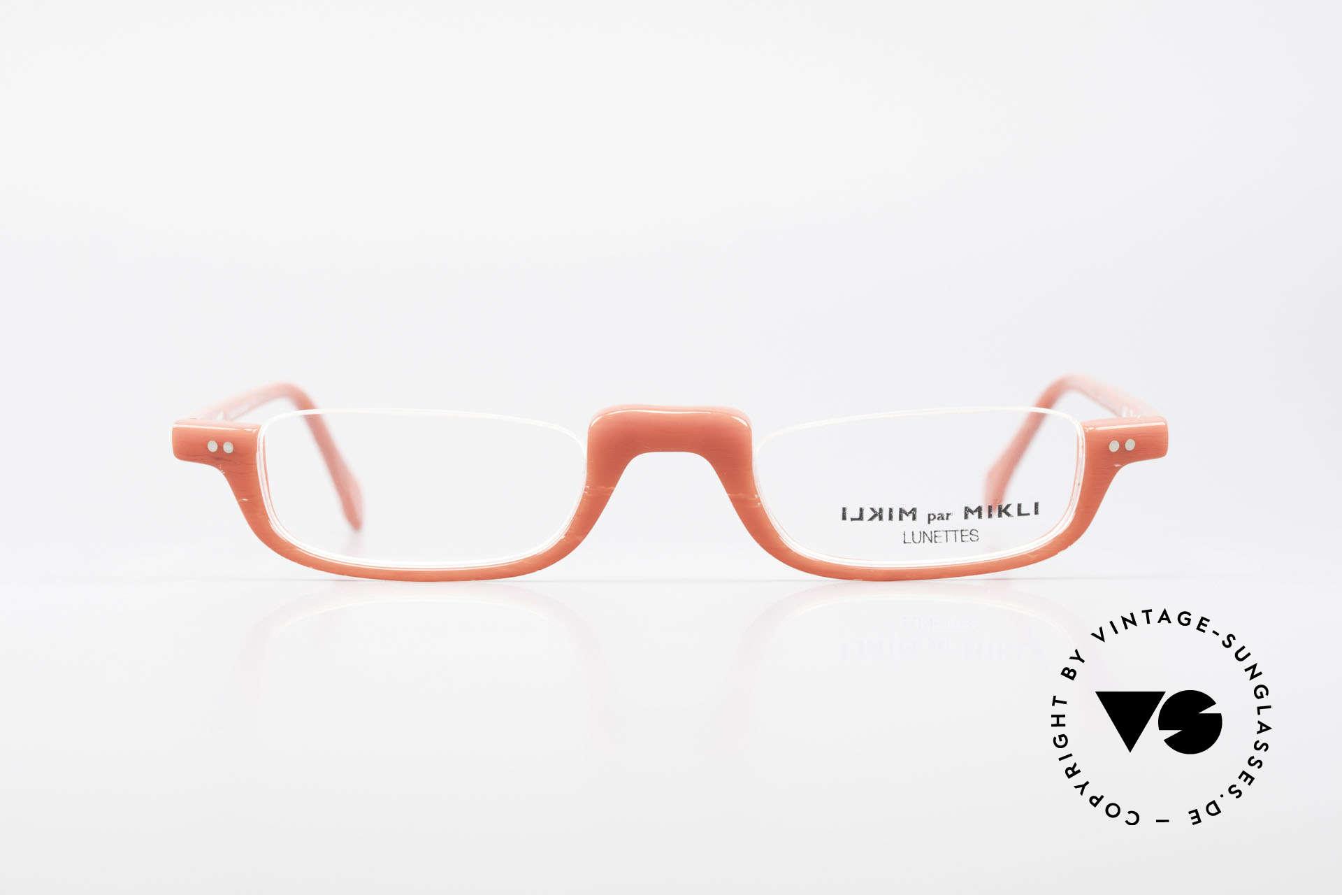 Alain Mikli 6071 / 2081 Vintage Lesebrille Mikli Rot, tolles Rahmenmuster: leicht transparent und rot, Passend für Damen