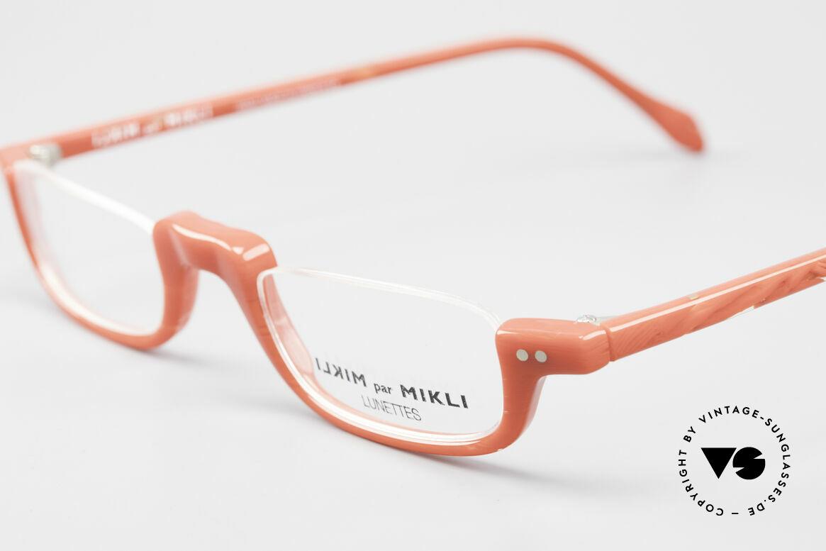 Alain Mikli 6071 / 2081 Vintage Lesebrille Mikli Rot, ungetragenes Einzelstück (wie alle unsere Miklis), Passend für Damen