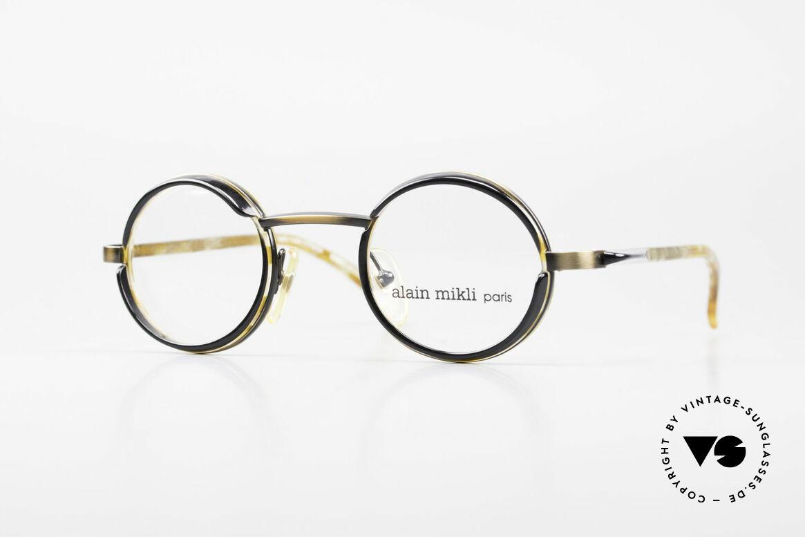 Alain Mikli 2150 / 38025 Runde Vintage Designer Brille