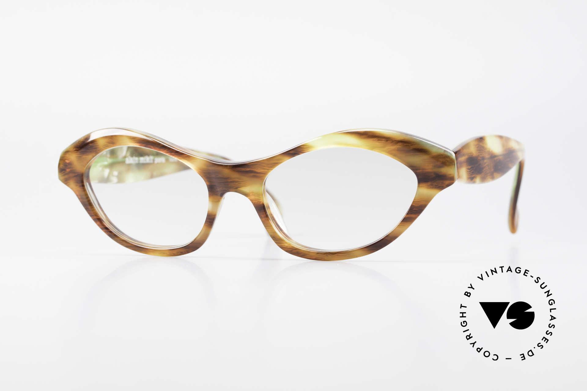 Alain Mikli 2112 / 1036 80er Cateye Style Damen Brille, zauberhafte Designersonnenbrille von Alain Mikli, Passend für Damen