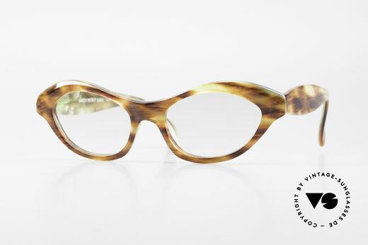 Alain Mikli 2112 / 1036 80er Cateye Style Damen Brille Details