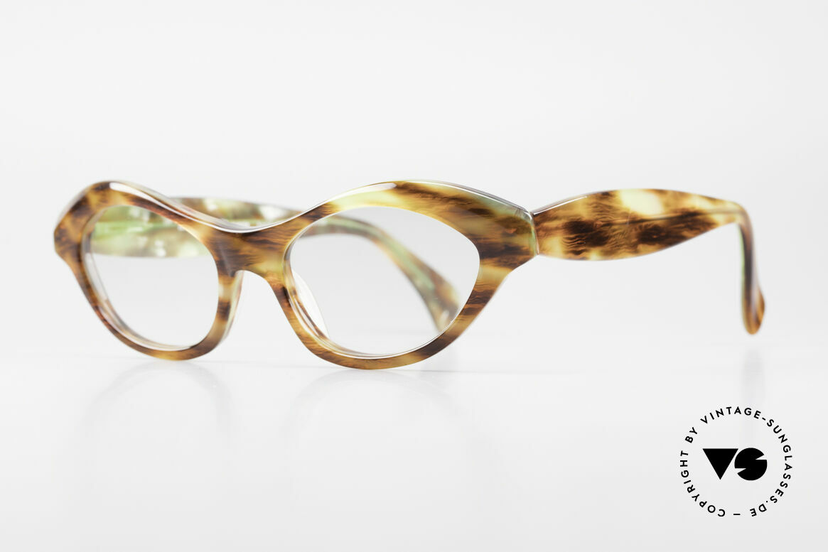 Alain Mikli 2112 / 1036 80er Cateye Style Damen Brille, sehr feminines 'Cat's-eye' Design  -  einfach chic!, Passend für Damen