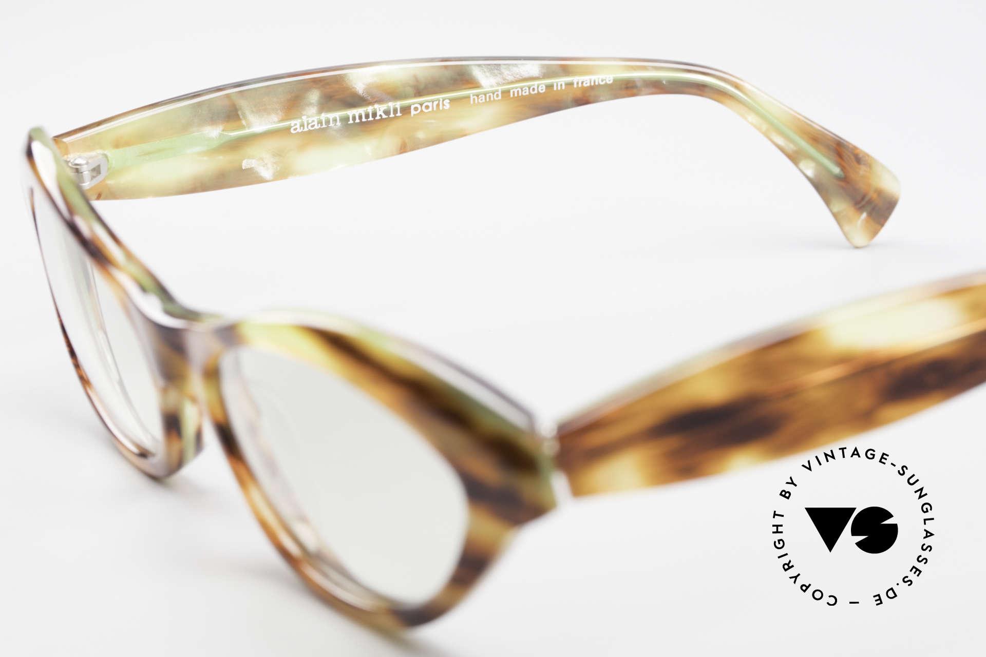 Alain Mikli 2112 / 1036 80er Cateye Style Damen Brille, ungetragen (wie alle unsere vintage MIKLI Brillen), Passend für Damen