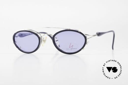 Yohji Yamamoto 51-7210 Clip-On 90er No Retro Brille Details