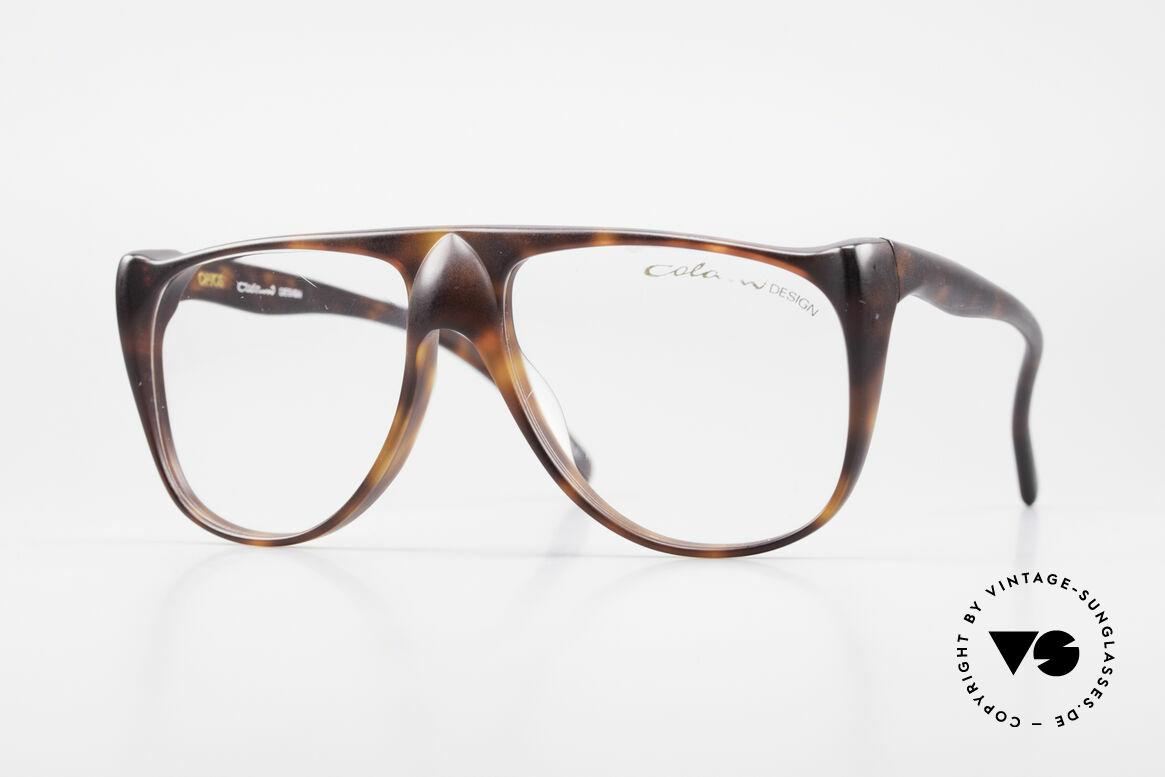 Colani 15-331 Schwungvolle Vintage Brille, futuristisches LUIGI COLANI Design der 1980er Jahre, Passend für Herren