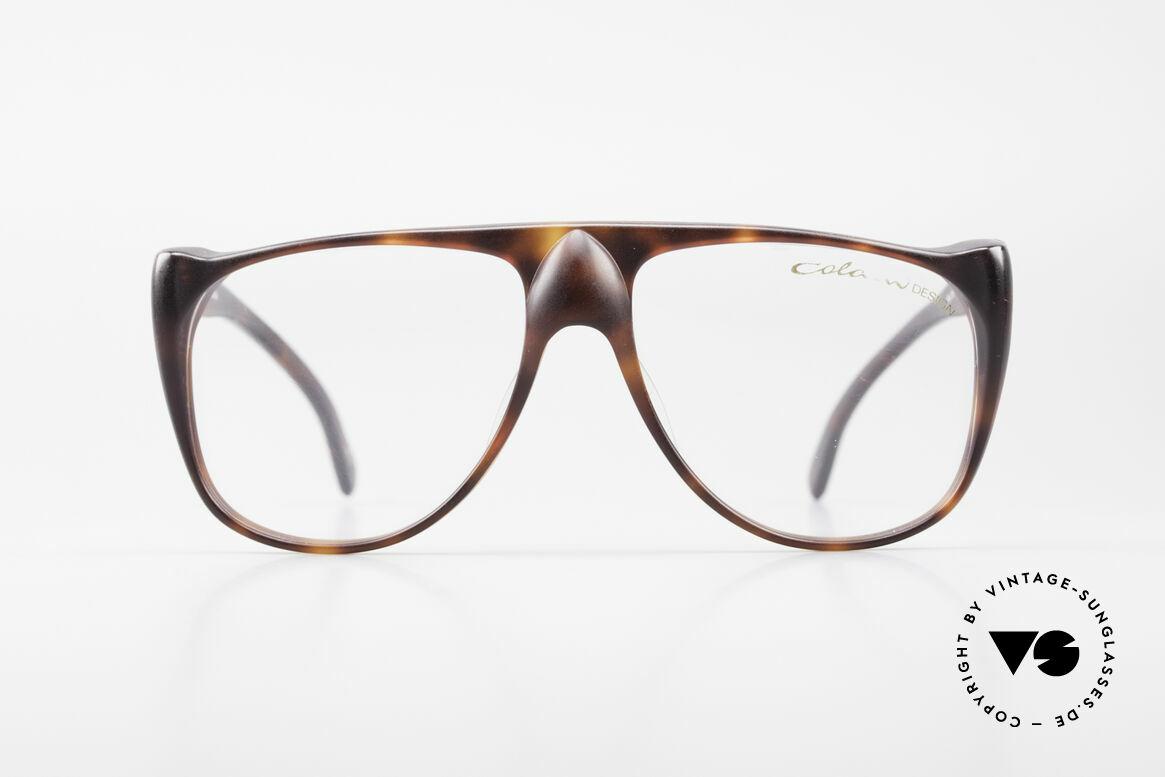 Colani 15-331 Schwungvolle Vintage Brille, kunstvoll geschwungener Rahmen; Premium-Qualität, Passend für Herren